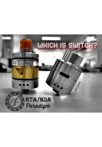 Switch RDA / RDTA - Paradigm Modz ( pré-commande )