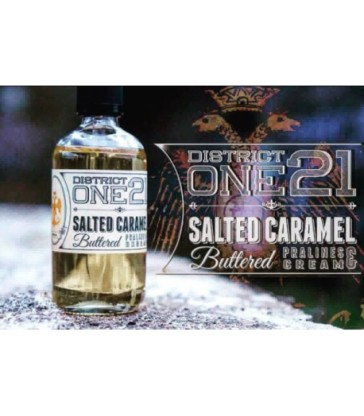 Salted Caramel Buttered 50 ML - District One 21