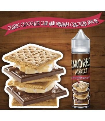 Classic Chocolate Chip and Graham Crackers Smore 60ml - Smores Addict