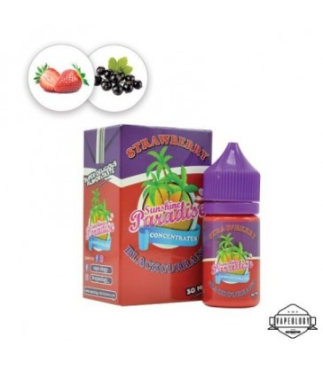 Concentré Strawberry Blackcurrant 30ml - Sunshine Paradise