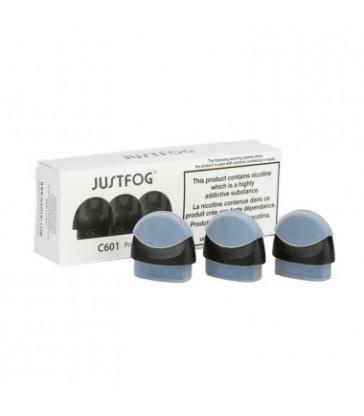 Pods de remplacement C601 Justfog