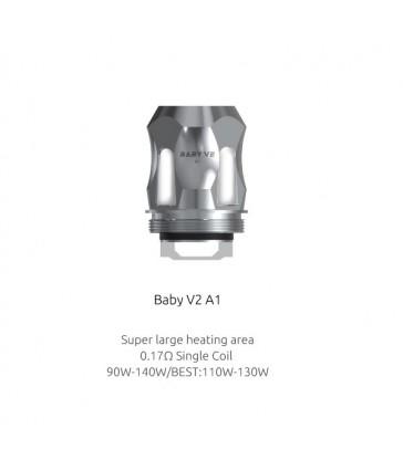 Résistances TFV8 Baby V2 A1 (0.17) Smok