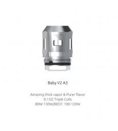 Résistances TFV8 Baby V2 A3 (0.15) Smok