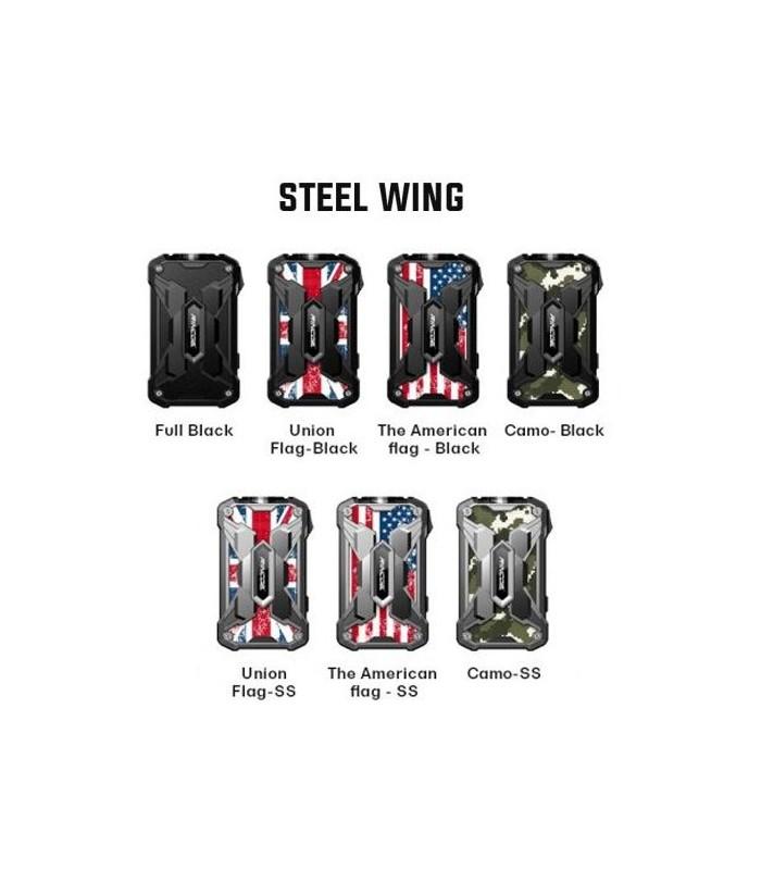 Box Mechman 228w - Rincoe (Steel Wing version)