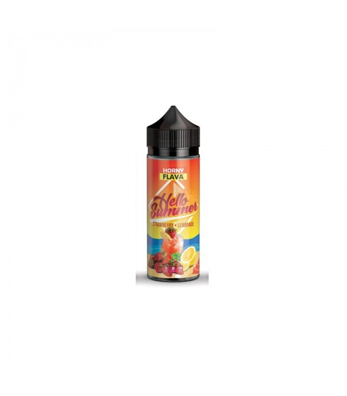 Hello Summer - Strawberry Lemonade 100ML - Horny Flava