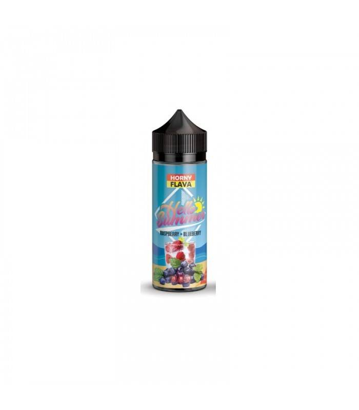Hello Summer - Raspberry Blueberry 100ML - Horny Flava